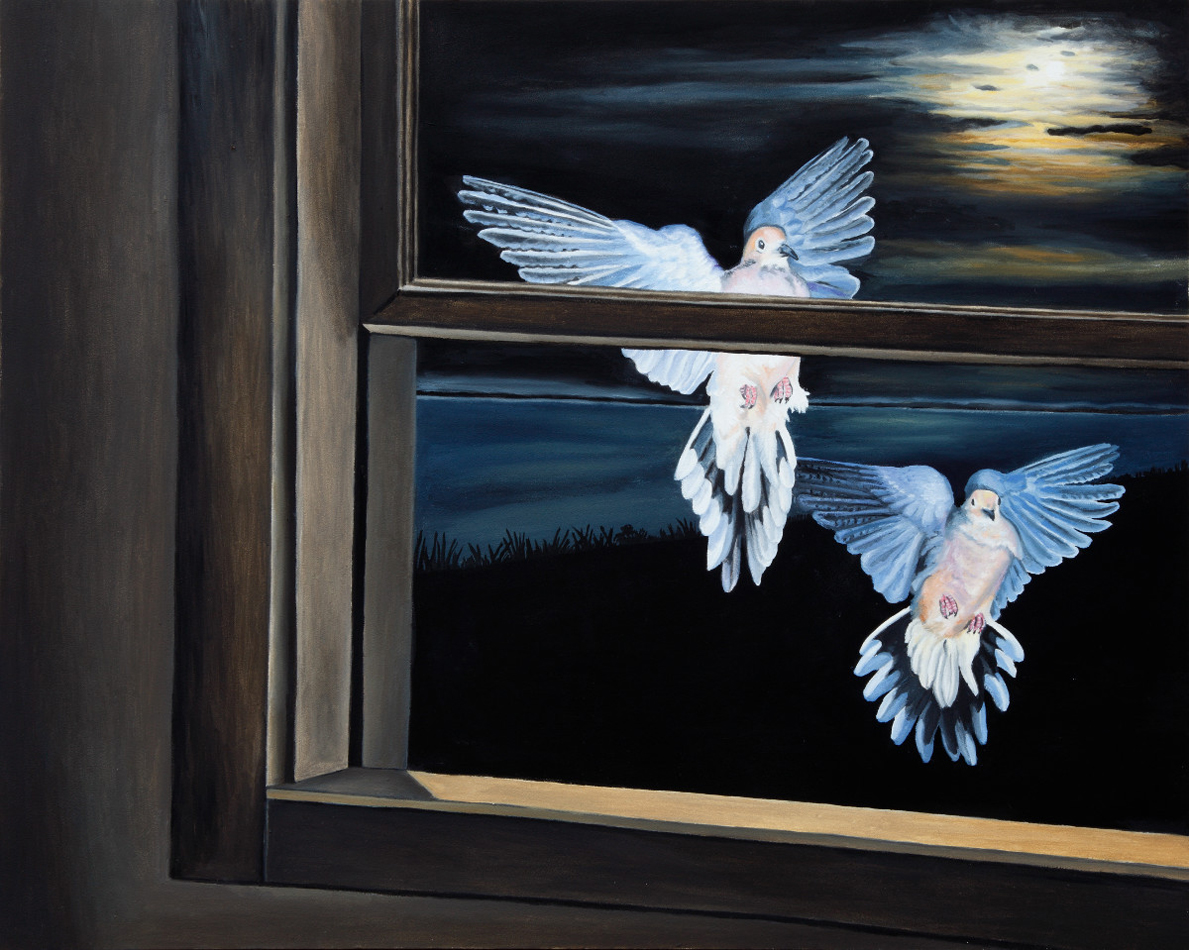 Visitation of the Mourning Doves